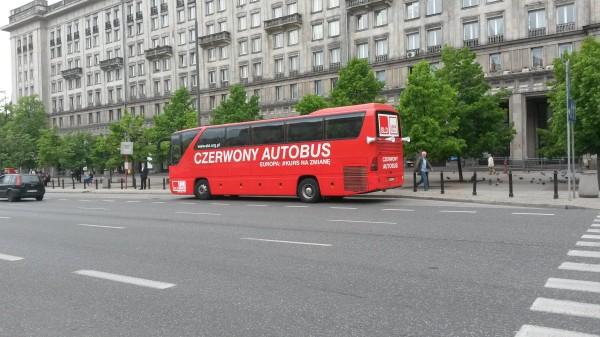 Czerwony autobus